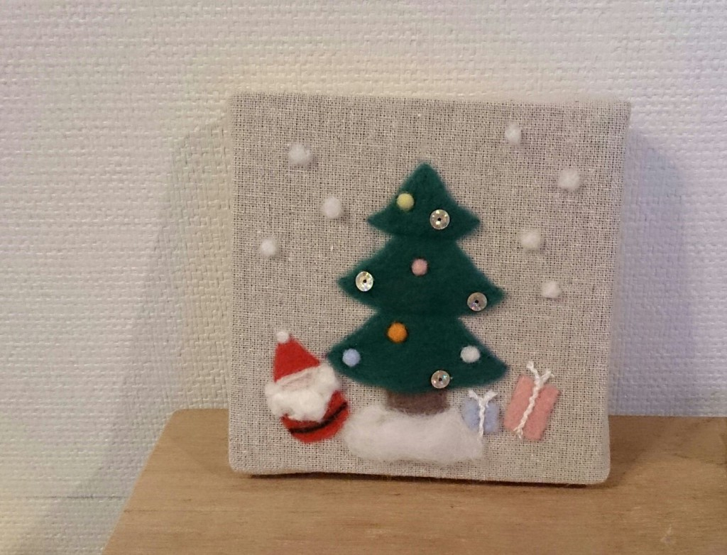クリスマス(ファブリックボード)