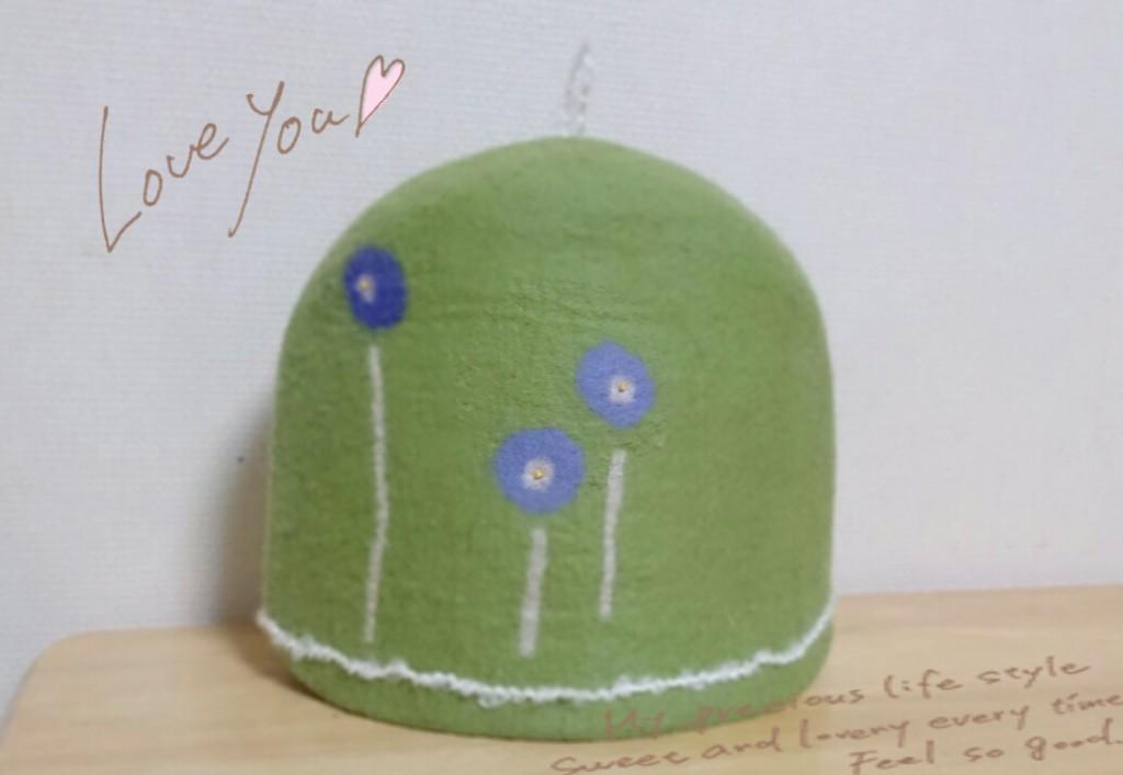 ティーポットカバー(お花)